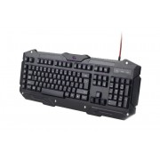 KBD, Gembird Programmable, Gaming, US layout, black (KB-UMGL-01)