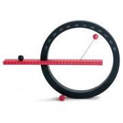 MoMa Collection - Ewiger Kalender groß, rot / schwarz
