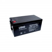 12V 250Ah Sealed Lead Acid Gel Cell Battery Universal UB8D 40702