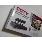 Осемканална видеосистема за видеонаблюдение - пълен комплект