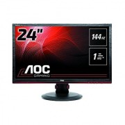 AOC G2460PF 24-Inch Free Sync Gaming LED Monitor Full HD (1920 x 1080) 144hz 1ms