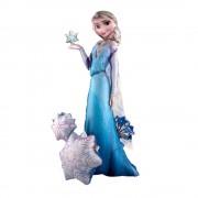 Balon folie airwalker Frozen - Elsa - 144cm, Amscan 110087