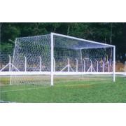 Rede para Gol Futebol de Campo México Profissional Nylon (Par) - Fio 6mm