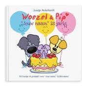 Boek met naam - Woezel en Pip .. is jarig (Softcover)