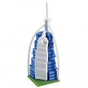 Brixies 410044 - Burj Al Arab Mini Costruzione