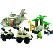Ecoiffier Abrick Safari Plane Playset