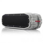 Braven BRV-X Portable Wireless Speaker - Retail Packaging - Gray/White