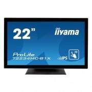 Monitor iiyama T2234MC-B1X, 22'', LCD, Multitouch, kapacitný
