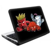 """MusicSkins - Pellicola adesiva di protezione, motivo """"Protagonisti della serie animata Aqua Teen Hunger Force"""", misura grande, 24,1 x 16,4 cm, per netbook"""