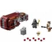 Set Constructie Lego Star Wars Reys Speeder