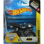 Hot Wheels 2015 Off-Road Monster Jam Batman [Black] Die-Cast Vehicle #32 1:64 Scale