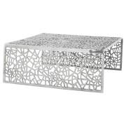Table basse de salon 'ARANEA' en aluminium