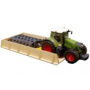 Van Manen 610489 - Silo (60 x 30 x 6 cm) para tractores Brüder