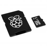 Tarjeta MicroSD 8GB para Raspberry Pi con Software Noobs 1.5
