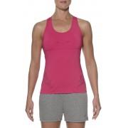 asics Tech Tank Koszulka do biegania różowy Koszulki do biegania bez rękawów