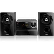 Micro sistem audio Philips MCM1350, CD/MP3 Player (Negru)