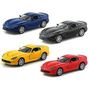 Set of 4 - 2013 SRT Dodge Viper GTS 1/36