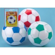 Inflatable Football Beach Ball 22 (55cm) 3 PER PACK by PinkWebShop