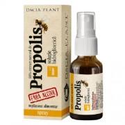 Tinctura Propolis Spray Glicolic Fara Alcool 20ml Dacia Plant