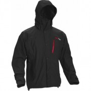 High Point Thunder black/red zip pánská nepromokavá bunda BlocVent 2L SDWR