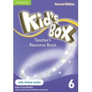 Kid's Box Level 6 Teacher's Resource Book with Online Audio by Kate Cory-Wright
