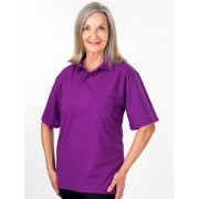 Lowes Plain Polo Top - Yellow L