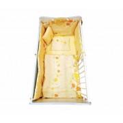 Posteljina Set Happy Yellow Muschrooms BERTONI