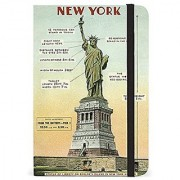 Cavallini Papers & Co Notebook Vintage New York 256 Pages Featuring Classic Cream Lined Paper Stock 4 x 6