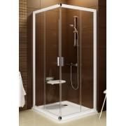 Ravak Blix BLRV2-90 sarokbelépõs zuhanykabin szatén kerettel, grape edzett biztonságiüveg betéttel