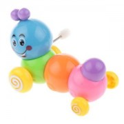 ELECTROPRIME Rainbow Coloured Worming Caterpillar Clockwork Wind Up Toy for Kids Play