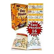 Read At Home Easy Phonics Early Readers 16 Books Box Set Collection Pack