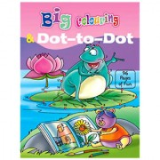 Buzzers My First Big Book Of Colouring Dot To Dot