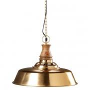Maisons du monde Lampada a sospensione in metallo dorato e mango D.42cm VERMONT