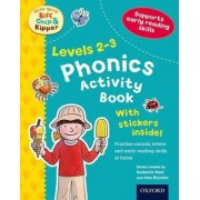 Oxford Reading Tree Read with Biff, Chip, and Kipper: Levels 2-3: Phonics Activity Book by Roderick Hunt