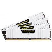 Memorii Corsair Vengeance LPX White DDR4, 4x16GB, 2666MHz, CL 16