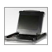 "ATEN CL1000M :: 17"" Slideaway™ LCD KVM конзола, single rail, 1U"