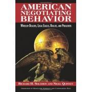 American Negotiating Behavior by Richard Hugh Solomon