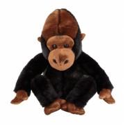Knuffeldier zilverrug gorilla 25cm