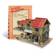 CubicFun 3d Puzzle - Southeast Asia Vietnam Coffee house
