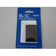 Acumulator Nokia BL-5C Li-Ion Blister pentru telefon Nokia 1100, 1101, 1110, 1110i, 1112, 1200, 1208, 1209
