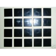 LEGO Bricks 3068 City - Azulejo (2 x 2 pivotes, 20 unidades), color negro
