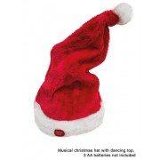 Caciula Mos Craciun - muzicala MERRY CHRISTMAS care danseaza