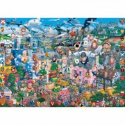 Gibsons puzzles I Love Great Britain 1000 Piece Puzzle