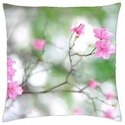 Flores de color rosa - Funda de almohada manta (18