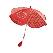 My First Hello Kitty Parasol (Red)