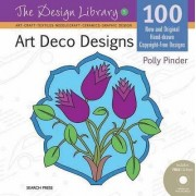 Art Deco Designs (Dl05) by Polly Pinder