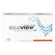 INTEROJO AquaView Moist 2 weeks 1 ks. dioptrie: +4.00, zakřivení: 8.6, průměr: 14.2