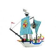 Barco Pirata de Guerra Con Piratas Capturados 305