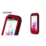 Pancerne etui LOVE MEI do LG G3 - Czerwony
