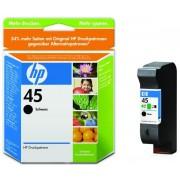 Cartus cerneala HP 45 (Negru)